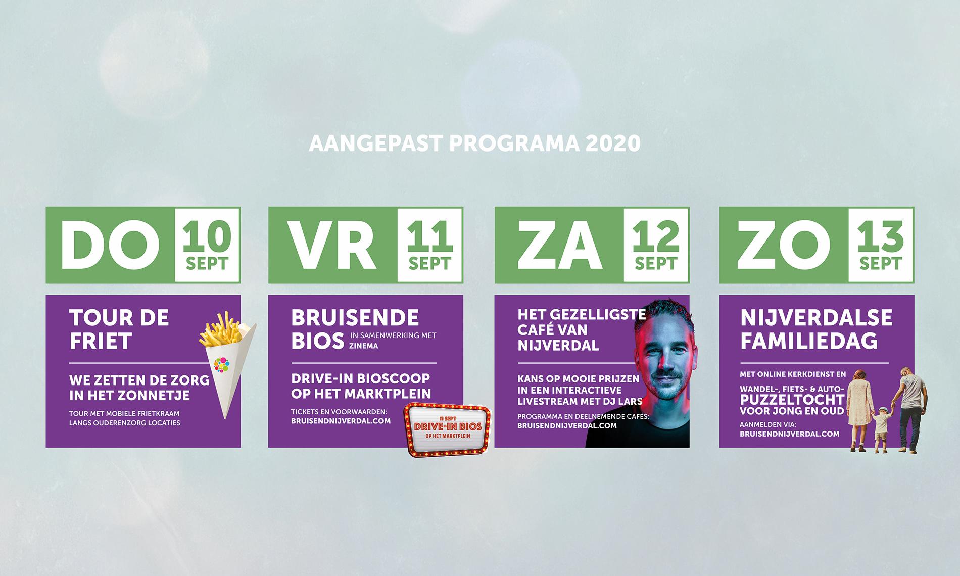 Bruisend nijverdal aangepast programma 2020
