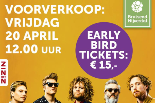 Kaartverkoop Di-rect start op 20 april