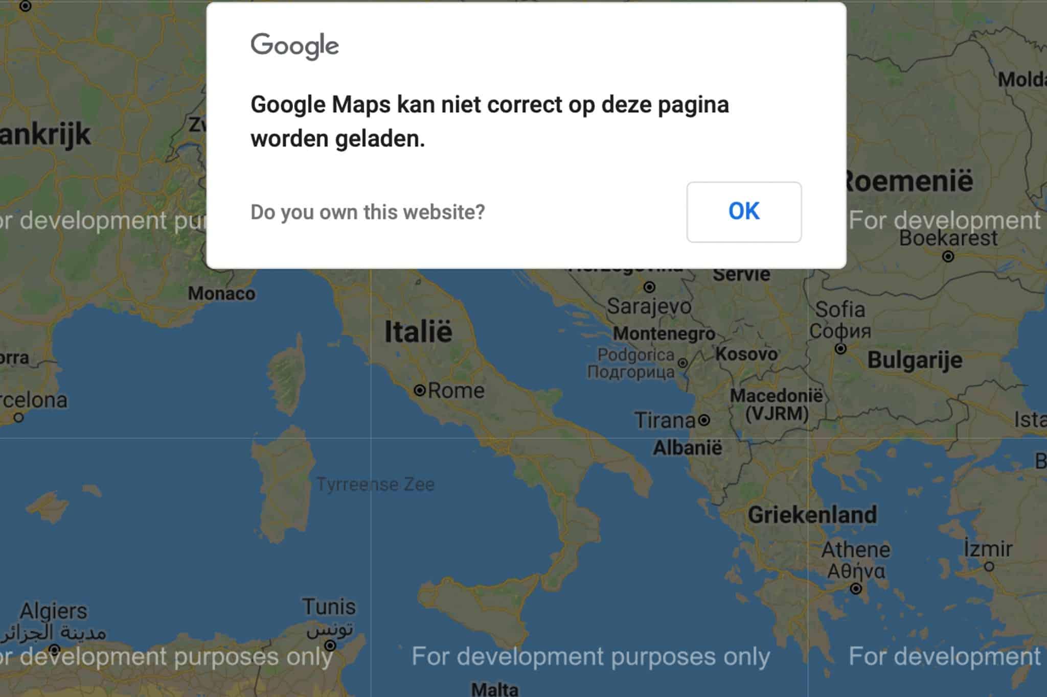 google-maps-kan-niet-correct-op-deze-pagina-worden-geladen