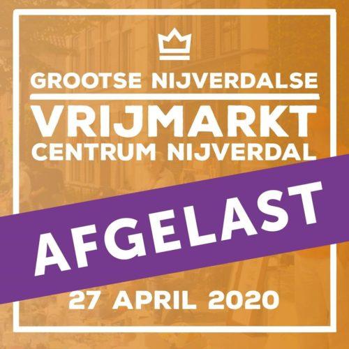 Koningsdag 2020 in Nijverdal gaat niet door